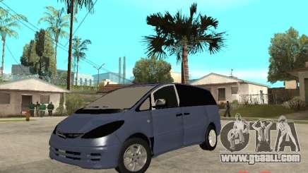 Toyota Estima KZ Edition 4wd for GTA San Andreas