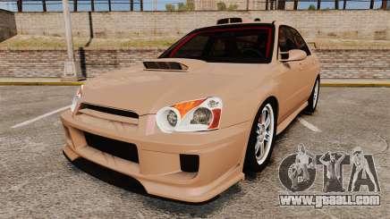 Subaru Impreza WRX STI 2004 for GTA 4