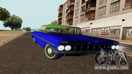 Chevrolet Bel Air 1959 for GTA San Andreas