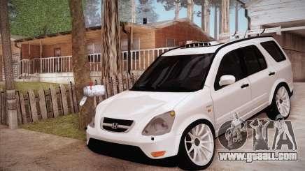 Honda CR-V Hellaflush for GTA San Andreas