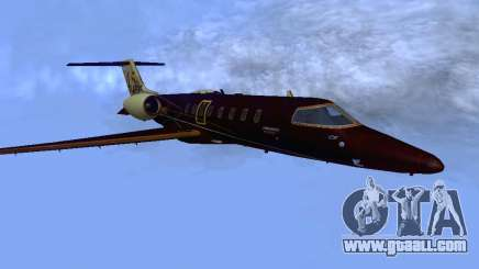 Bombardier Learjet 45 for GTA San Andreas
