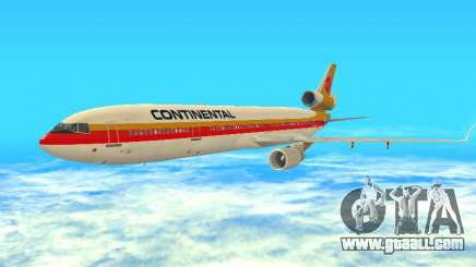 McDonnell Douglas MD-11 Continental Airlines for GTA San Andreas