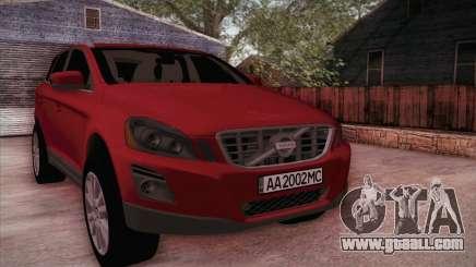 Volvo XC60 2009 for GTA San Andreas