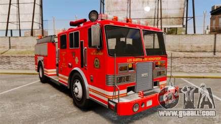 Fire Truck v1.4A LSFD [ELS] for GTA 4