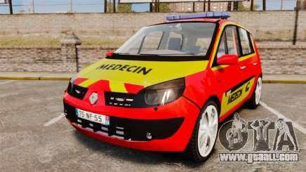 Renault Scenic Medicin v2.0 [ELS] for GTA 4