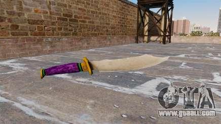 Knife-Joker- for GTA 4