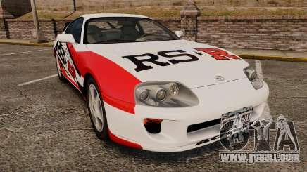 Toyota Supra MKIV 1995 RS-R for GTA 4