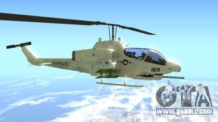 AH-1W Super Cobra for GTA San Andreas