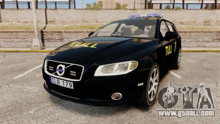 Volvo V70 Swedish TULL [ELS] for GTA 4