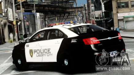 Ford Police Interceptor LCPD 2013 [ELS] for GTA 4