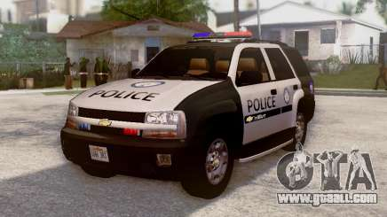 Chevrolet TrailBlazer Police for GTA San Andreas