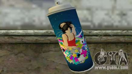 Spray for GTA San Andreas