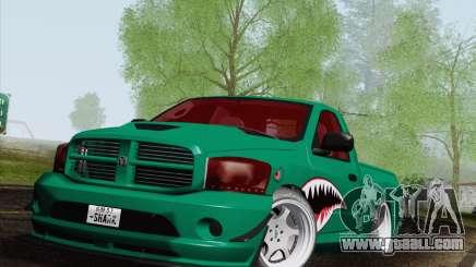 Dodge Ram SRT10 Shark for GTA San Andreas