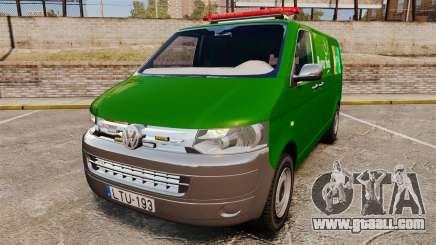 Volkswagen Transporter T5 Hungarian Post [ELS] for GTA 4