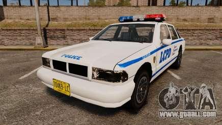 GTA SA Police Cruiser LCPD [ELS] for GTA 4
