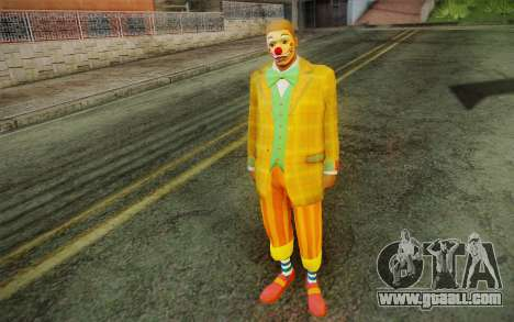 The clown from GTA 5 for GTA San Andreas second screenshot