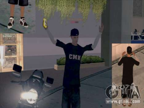 Skin media workers for GTA San Andreas forth screenshot
