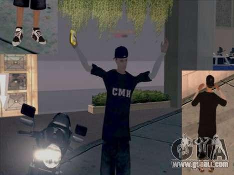 Skin media workers for GTA San Andreas forth screenshot