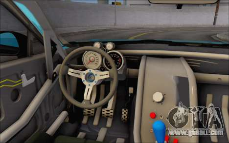 Scion FR-S 2013 Beam for GTA San Andreas bottom view