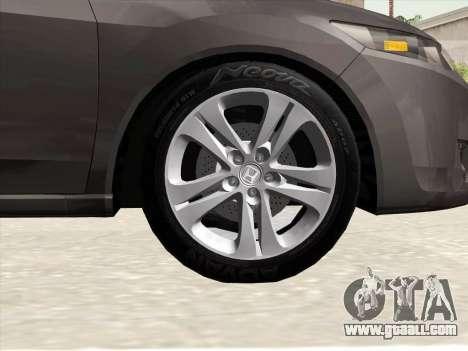 Honda Accord 2009 for GTA San Andreas