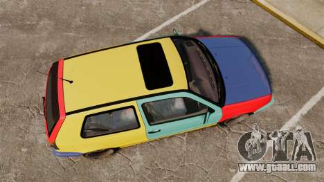 Volkswagen Golf MK3 Harlequin for GTA 4 right view