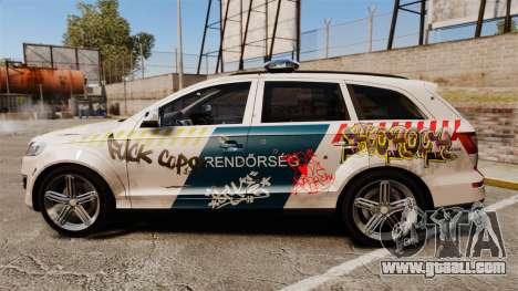 Audi Q7 FCK PLC [ELS] for GTA 4 left view