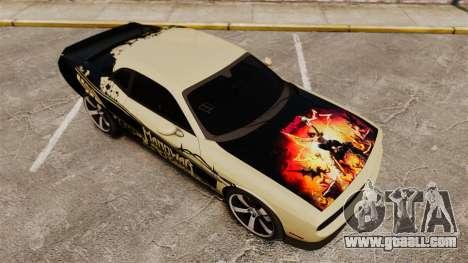 Dodge Challenger SRT8 2012 for GTA 4 engine