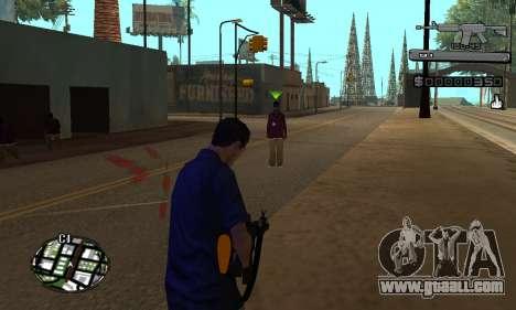 C-HUD Smoke for GTA San Andreas second screenshot