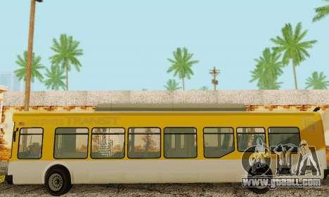 Transit Bus из GTA 5 for GTA San Andreas inner view