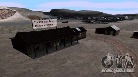 Updated snake farm for GTA San Andreas second screenshot