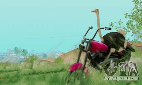 Ostrich From Goat Simulator for GTA San Andreas sixth screenshot