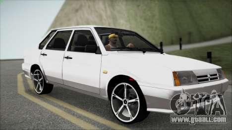 VAZ M for GTA San Andreas inner view