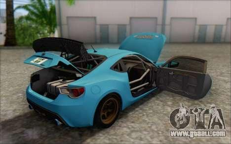 Scion FR-S 2013 Beam for GTA San Andreas engine