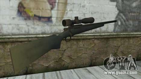 M40A1 Sniper Rifle for GTA San Andreas second screenshot