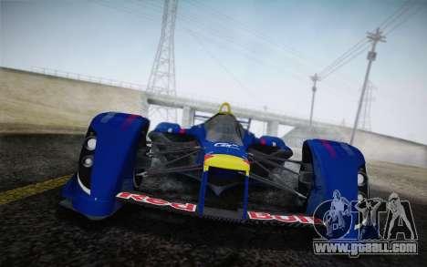 GT Red Bull X10 Sebastian Vettel for GTA San Andreas