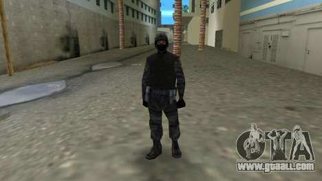 Fighter of Russian Spetsnaz from CS:CZ for GTA Vice City