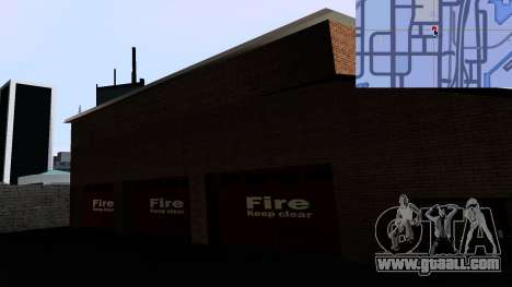 Updated San Fierro Fire Dept for GTA San Andreas forth screenshot