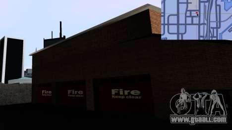 Updated San Fierro Fire Dept for GTA San Andreas forth screenshot