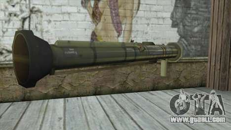 AT4 Rocket Launcher for GTA San Andreas second screenshot