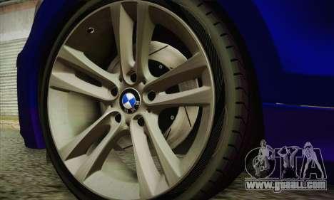 BMW 120i SE Carabinieri for GTA San Andreas right view