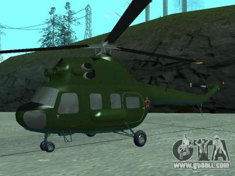 Mi 2 military for GTA San Andreas left view