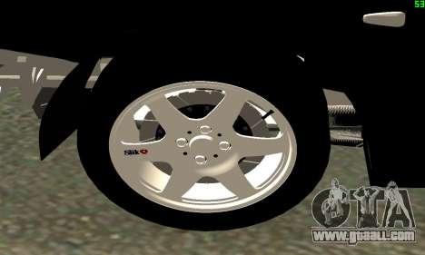 VAZ-21123 TURBO-Cobra for GTA San Andreas back view