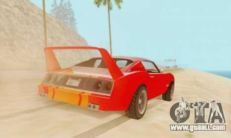 Imponte Phoenix из GTA 5 for GTA San Andreas left view