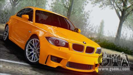 BMW 1M 2011 for GTA San Andreas right view
