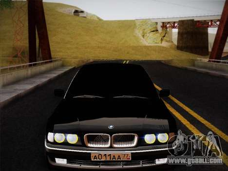 BMW 730d E38 1999 for GTA San Andreas right view