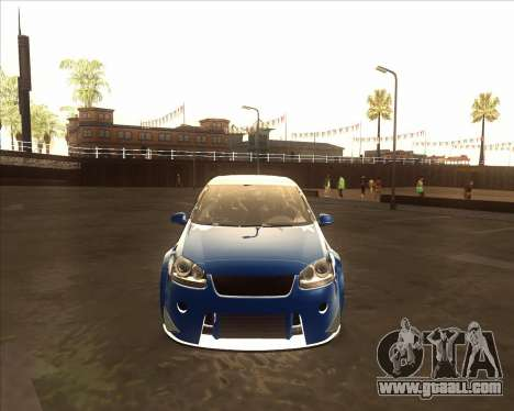 Volkswagen Golf из NFS Most Wanted for GTA San Andreas left view