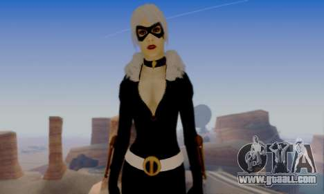 Catwoman for GTA San Andreas sixth screenshot