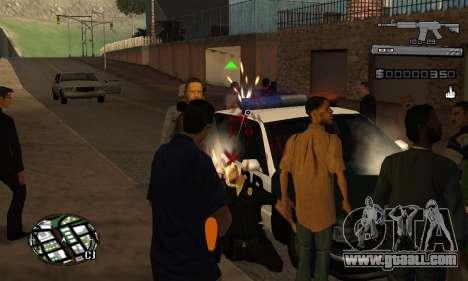 C-HUD Smoke for GTA San Andreas forth screenshot