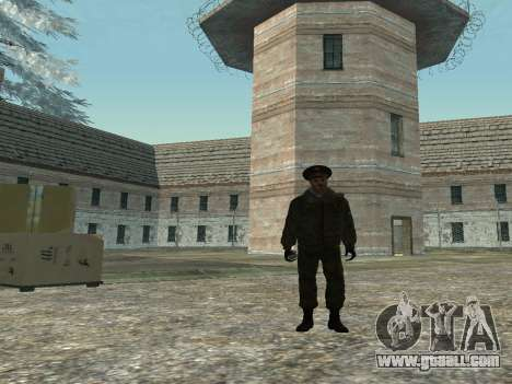 Lieutenant-Colonel of the Internal troops for GTA San Andreas second screenshot