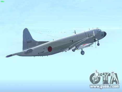 Lockheed P-3 Orion FAJ for GTA San Andreas right view